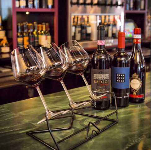 Wine Flights at Zooma Trattoria Providence RI