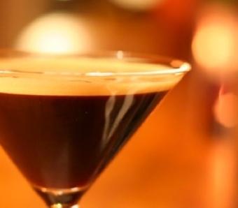 Espresso Martinis at Trattoria Zooma Providence