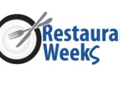 Restaurant Weeks 2017 Menus