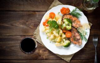 Salmone all Griglia - Monday Wine and Dine Dinner Special Trattoria Zooma Providence RI