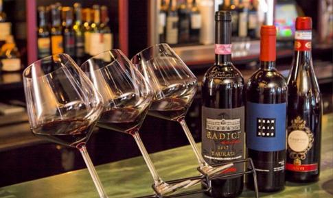 Wine Flights at Zooma Trattoria Providence RI