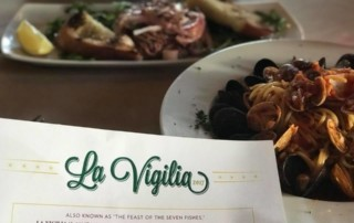 La Vigilia - Feast of the Seven Fishes - at Trattoria Zooma, Federal Hill, Providence RI