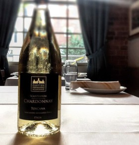 Toscana Chardonnay - new this summer at Trattoria Zooma